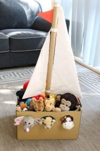 Perahu dari carton box
