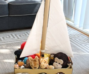 Inspirasi Kotak Mainan Dari Carton Box