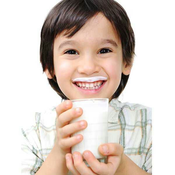 minum susu tinggi kalsium
