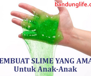 Membuat Slime yang aman untuk anak-anak